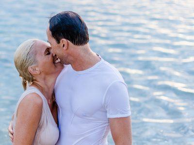 Elli & Dieter: Paarshooting bei Sonnenuntergang am See