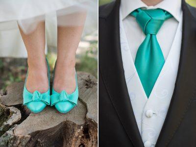 Türkisblaue Hochzeitsträume